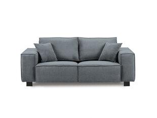 Dvivietė sofa Kooko Home Modern, tamsiai pilka kaina ir informacija | Sofos | pigu.lt