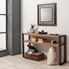 Konsolė Kalune Design Cosmo Dresuar, ruda/juoda kaina ir informacija | Stalai-konsolės | pigu.lt