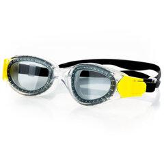 Plaukimo akiniai Spokey Sigil, juodi/geltoni kaina ir informacija | Plaukimo akiniai | pigu.lt