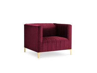 Fotelis Micadoni Home Annite, raudonos/auksinės spalvos kaina ir informacija | Svetainės foteliai | pigu.lt