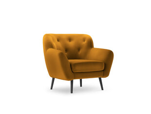 Fotelis Micadoni Home Mica, geltonas kaina ir informacija | Fotelis Micadoni Home Mica, geltonas | pigu.lt
