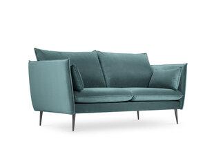 Sofa Micadoni Home Agate 2S, šviesiai žalia kaina ir informacija | Sofa Micadoni Home Agate 2S, šviesiai žalia | pigu.lt