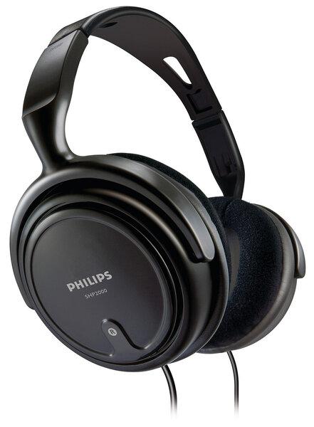 Ausinės Philips SHP2000, Juodos