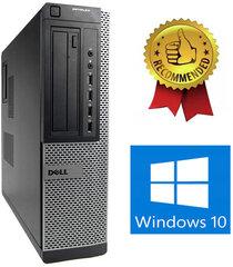 Dell 790 DT i5-2400S 16GB 480GB SSD 2TB Windows 10 kaina ir informacija | Stacionarūs kompiuteriai | pigu.lt