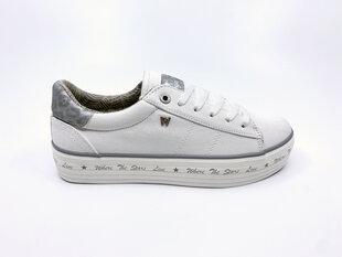 Kedai moterims Wrangler JAVA Vulcanized Sneakers Cvs, balti kaina ir informacija | Sportiniai bateliai, kedai moterims | pigu.lt