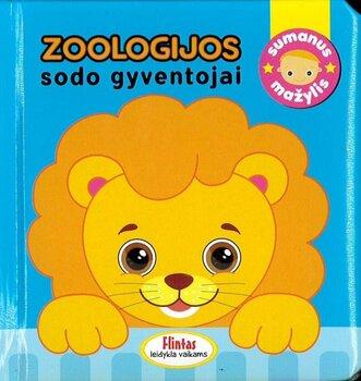 Sumanus mažylis Zoologijos sodo gyventojai цена и информация | Книги для малышей | pigu.lt