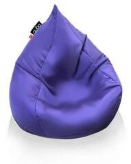 Sėdmaišis Qubo™ Splash Drop, gobelenas, violetinis kaina ir informacija | Sėdmaišis Qubo™ Splash Drop, gobelenas, violetinis | pigu.lt