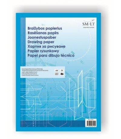 Popierius braižybai A3 10lapų 160g kaina ir informacija | Sąsiuviniai ir popieriaus prekės | pigu.lt