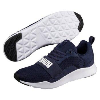 Синяя мужская повседневная обувь Puma Wired Peacoat цена и информация | Кроссовки для мужчин | pigu.lt