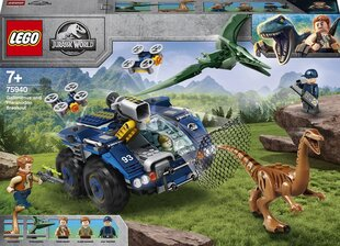 75940 LEGO® Jurassic World™ Побег Галимимса и Претанодона. цена и информация | Конструкторы и кубики | pigu.lt