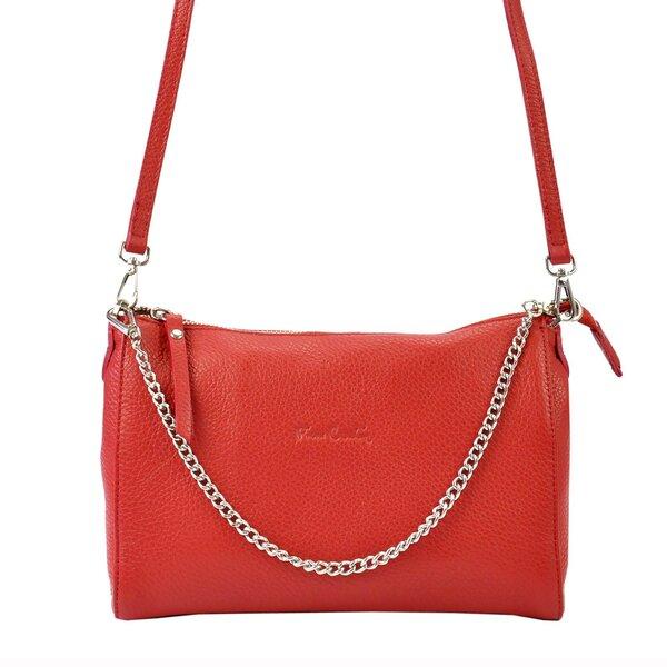 Женская кожаная сумка Pierre Cardin цена