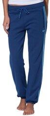 Sportinės kelnės moterims Adidas Originals FLEECE CUFFEDP, mėlynos kaina ir informacija | Sportinė apranga moterims | pigu.lt