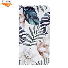 TakeMe Trendy Smart magnetic book case for Samsung Galaxy S10 Lite (G770F) Orhid kaina ir informacija | Telefono dėklai | pigu.lt