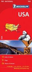 Kelių žemėlapis, Michelin, JAV kaina ir informacija | Kelių žemėlapis, Michelin, JAV | pigu.lt