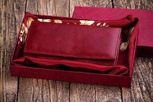 Moteriška odinė piniginė 18x11x2.5 M17DRD+dovanų pakavimas+šilkas nosinė kaina ir informacija | Moteriška odinė piniginė 18x11x2.5 M17DRD+dovanų pakavimas+šilkas nosinė | pigu.lt
