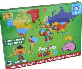 Dėlionė Imagi Pasaulis kaina ir informacija | Dėlionė Imagi Pasaulis | pigu.lt