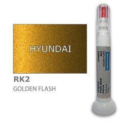 Карандаш-корректор для устранения царапин HYUNDAI RK2 - GOLDEN FLASH 12 ml цена и информация | Автомобильная краска | pigu.lt
