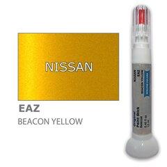 Карандаш-корректор для устранения царапин NISSAN EAZ - BEACON YELLOW 12 ml цена и информация | Автомобильная краска | pigu.lt