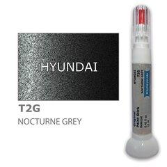 Dažų korektorius įbrėžimų taisymui HYUNDAI T2G - NOCTURNE GREY 12 ml kaina ir informacija | Automobiliniai dažai | pigu.lt