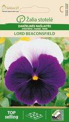 Darželinės našlaitės Lord Biconsfield kaina ir informacija | Gėlių sėklos | pigu.lt