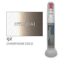 Карандаш-корректор для устранения царапин HYUNDAI QZ - CHAMPAGNE GOLD 12 ml цена и информация | Автомобильная краска | pigu.lt