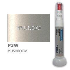 Карандаш-корректор для устранения царапин HYUNDAI P3W - MUSHROOM 12 ml цена и информация | Автомобильная краска | pigu.lt