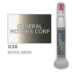 Карандаш-корректор для устранения царапин GENERAL MOTORS CORP G38 - MYSTIC GREEN 12 ml цена и информация | Автомобильная краска | pigu.lt
