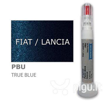 Карандаш-корректор для устранения царапин FIAT / LANCIA PBU - TRUE BLUE 12 ml цена и информация | Автомобильная краска | pigu.lt