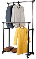 Товар с повреждённой упаковкой. Вешалка для одежды Tatkraft Phoenix, черная цена и информация | Мебель с поврежденной упаковкой | pigu.lt