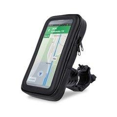 Universalus telefono laikiklis Maxlife MXBH-01 L, dviračiui, atsparus vandeniui,15x8,5x2,5 cm dydis kaina ir informacija | Telefono laikikliai | pigu.lt