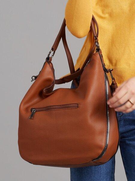 Женская сумка Tommasini, коричневая интернет-магазин