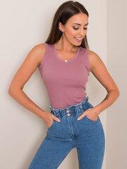 Marškinėliai moterims Hailey, violetiniai kaina ir informacija | Marškinėliai moterims | pigu.lt