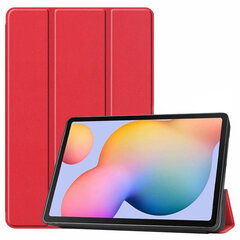 Dėklas Smart Leather Apple iPad 10.2 2019, raudonas kaina ir informacija | Dėklas Smart Leather Apple iPad 10.2 2019, raudonas | pigu.lt