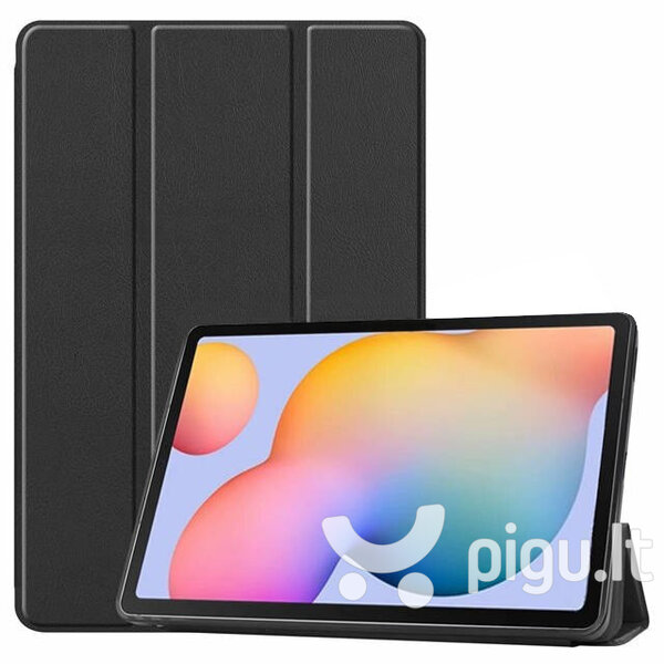 Dėklas Smart Leather Huawei MediaPad T3 10.0, juodas