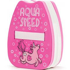 Pludurioujanti kuprinė Aqua-Speed Kiddie Unicorn różowy kaina ir informacija | Plaukimo lentos, plūdurai | pigu.lt