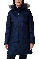 Žieminis paltas moterims, Columbia, Tamsiai mėlyna kaina ir informacija | Paltai moterims | pigu.lt