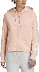 Džemperis moterims Adidas W Stacked Fz Hd, rožinis kaina ir informacija | Džemperiai moterims | pigu.lt