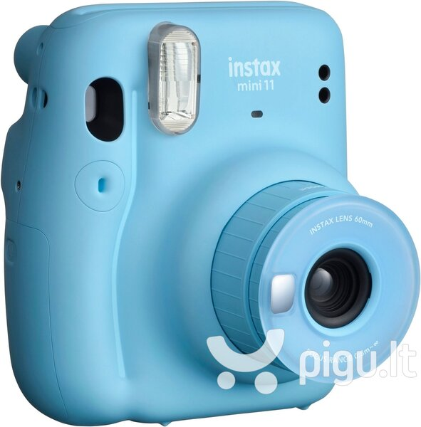 Fujifilm Instax Mini 11 (Sky Blue) + FUJIFILM Instax Mini Film (Glossy) (Color) 10 internetu