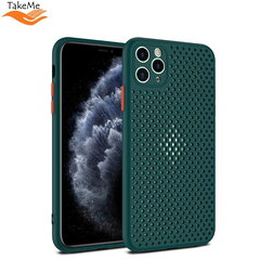 "TakeMe ""Breathing dotted"" TPU back cover case for Apple iPhone X / Xs Green kaina ir informacija 