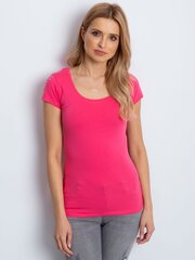 Marškinėliai, rožiniai kaina ir informacija | Marškinėliai moterims | pigu.lt
