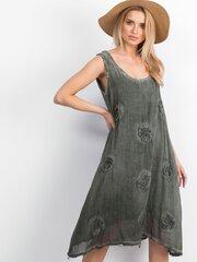Suknelė moterims, chaki kaina ir informacija | Suknelės | pigu.lt