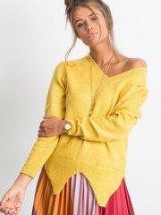Megztinis moterims, geltona kaina ir informacija | Megztiniai moterims | pigu.lt