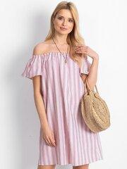 Suknelė moterims, balta, rožinė kaina ir informacija | Suknelės | pigu.lt