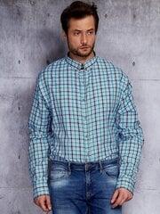 Marškiniai vyrams, šviesiai mėlyni kaina ir informacija | Vyriški marškiniai | pigu.lt