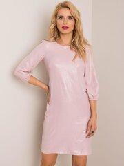 Suknelė moterims, šviesiai rožinė kaina ir informacija | Suknelės | pigu.lt