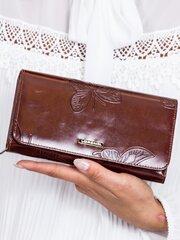Piniginė moterims, ruda kaina ir informacija | Piniginės, kortelių dėklai moterims | pigu.lt