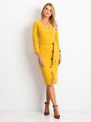 Suknelė moterims, geltona kaina ir informacija | Suknelės | pigu.lt