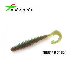 Guminukas INTECH Turborib 2 20 kaina ir informacija   Vobleriai, masalai, blizgės   pigu.lt