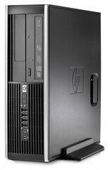 HP 8100 Elite SFF i3-540 16 GB 1 TB HDD GT710 2 GB Windows 10 Professional kaina ir informacija | Stacionarūs kompiuteriai | pigu.lt