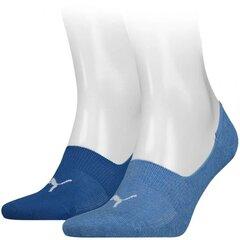 Kojinės sportui Puma Footie 2 pairs 906245 38 (64647), mėlynos kaina ir informacija | Vyriškos kojinės | pigu.lt